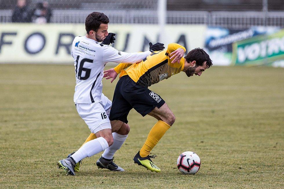 Fotbalová FORTUNA:NÁRODNÍ LIGA: FC Hradec Králové - FK Baník Sokolov.
