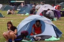 Hudební festival Rock for People 2009 končí, kemp se uzavírá v úterý 7. července