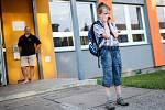 Cesta do školy. Ilustrační fotografie.