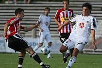 FC Hradec Králové – FK Viktoria Žižkov 1:0. Černý Pavel