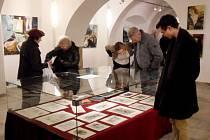 Výstava u příležitosti nedožitých 90. narozenin malíře a grafika Jiřího Ščerbakova v Biskupském paláci v Hradci Králové.