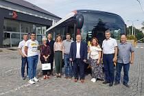 O elektrobusy se zajímali Rumuni.