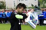 Fotbalový Kouba Cup žákovské kategorie U15 - o 1. až 3. místo: Královéhradecký KFS - Olomoucký KFS.