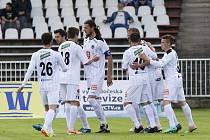 Fotbalová národní liga: FC Hradec Králové - Loko Vltavín.