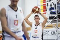 Kooperativa NBL Královští sokoli vs USK Praha, basketbal Hradec Králové,