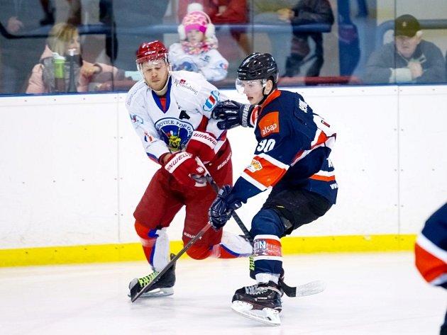 Krajská hokejová liga - finále play off: SK Třebechovice pod Orebem - HC Jičín.