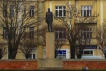 Socha Tomáše Garrigue Masaryka v Hradci Králové