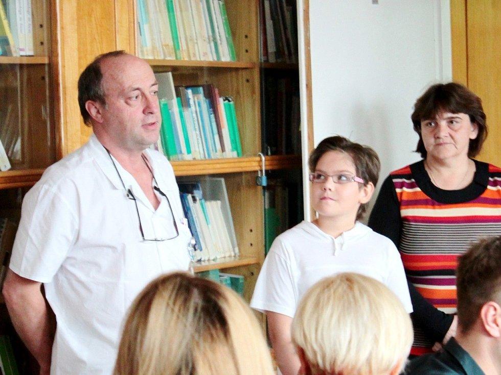 Nadační fond podpořil léčbu malých pacientů.