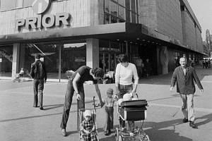Prior v Hradci Králové v roce 1981.