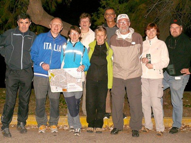 Účastníci orientačního závodu z Karlovarského kraje
