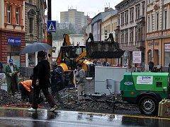 Rekonstrukce chebské pěší zóny