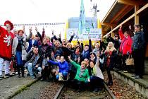 AKCE LITERÁRNÍ Františkovy Lázně je mezi lidmi oblíbená. Ani letos nebude chybět Happeningový vlak.