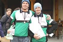 Karel Rambousek ml. a Karel Pilař