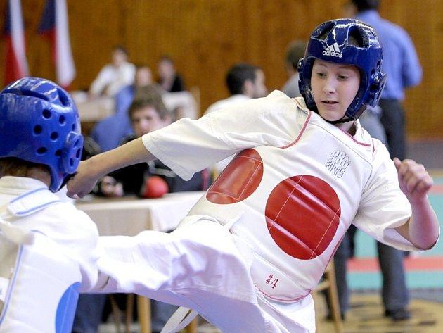 JEDNÍM z františkolázeňských medailistů byl i Alexandr Květoň (na snímku vpravo).