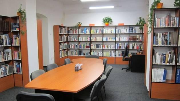 Městská knihovna Mariánské Lázně.