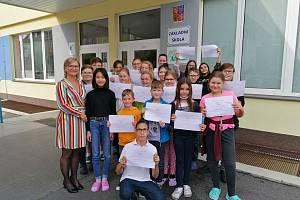 Dne 24. září 2020 se konalo slavnostní uvedení do Žákovského parlamentu naší školy.