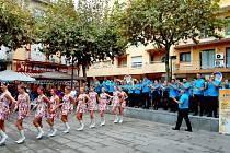 Mládežnický dechový orchestr Cheb se svou taneční skupinou zajel na týdenní výlet do Španělska.