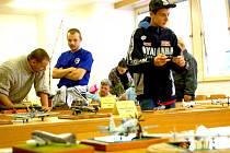 V prostorách Západočeské university v Chebu se uskutečnila soutěž plastikových modelů.