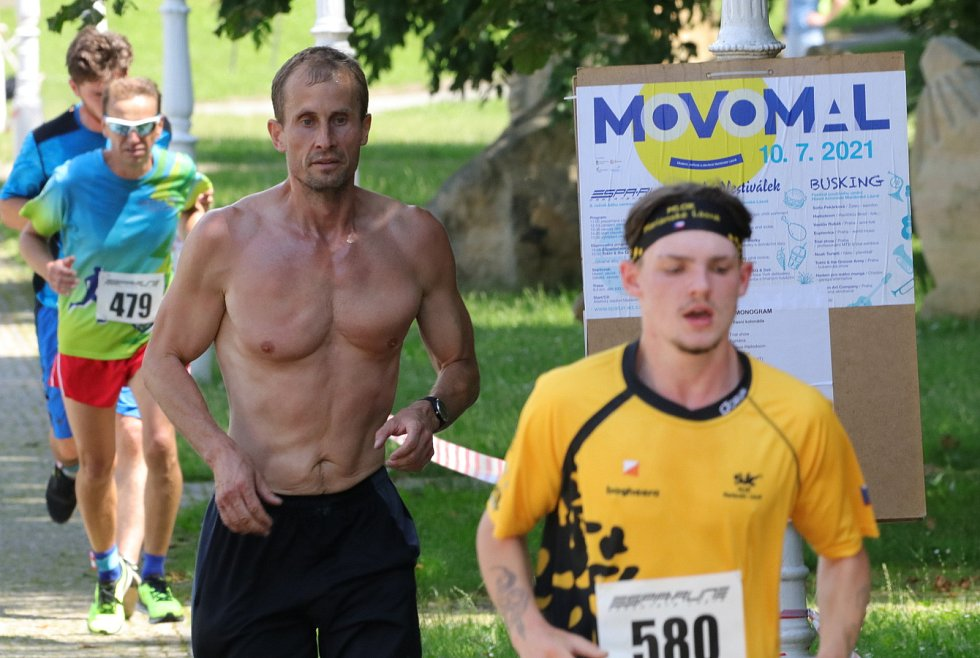 Z části závodu SpaRun2021 v Mariánských Lázních.