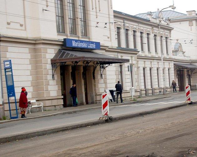 JEDNOU Z JISTÝCH investic v Mariánských Lázních je výstavba dopravního terminálu.