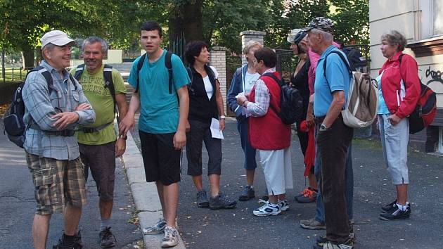 NA STARTU ´HRANIČÁŘSKÉ 30´ by ani letos neměla chybět početná skupinka ašských turistů.