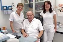 NEJLEPŠÍ! Ordinace chebského chirurga Jana Kropáčka několikrát bodovala v anketě o nejlepší ordinaci.
