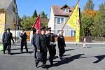 Hasiči v Krásně oslavili 150. narozeniny.
