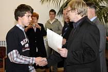 Mezi oceněnými byl i Emil Minář z  SK TOP Kart Cheb – druhý na celostátním šampionátu.