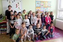 Prvňáčci 5. základní školy Cheb