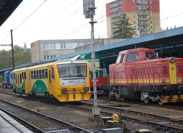 Chebské nádraží.