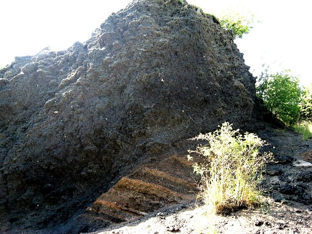 Čtvrtohorní sopka Železná hůrka u Chebu.
