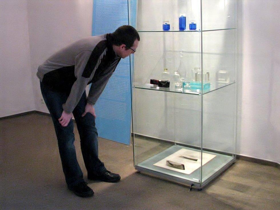 Petr Nový, jeden z autorů nové výstavy v chebském muzeu