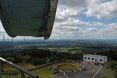 Lidé se opět mohli rozhlédnout do kraje z dyleňského vysílače