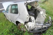 Řidičce vběhlo před auto divoké prase.