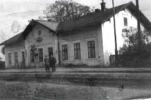 Historické fotky Nebanic.