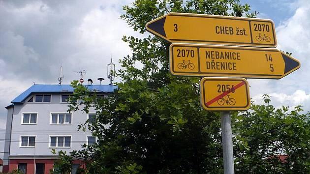 Nové cyklostezky na Chebsku