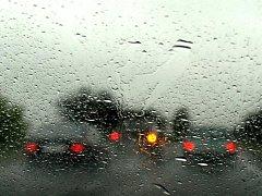 Déšť. Ilustrační foto.