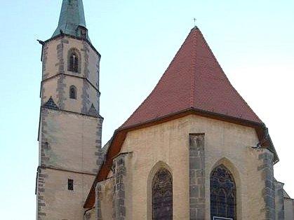 Františkánský klášter v Chebu.