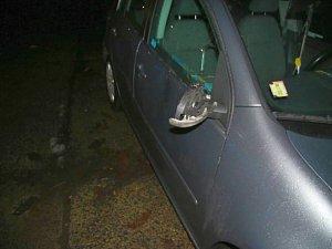 Opilec demoloval auto, způsobil škodu kolem 70 tisíc korun.