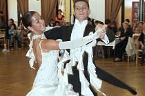 Na ´Vánoční ceně města Rokycan´ se dařilo chebským tanečníkům.