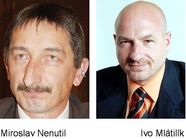 Miroslav Nenutil a Ivo Mlátilík