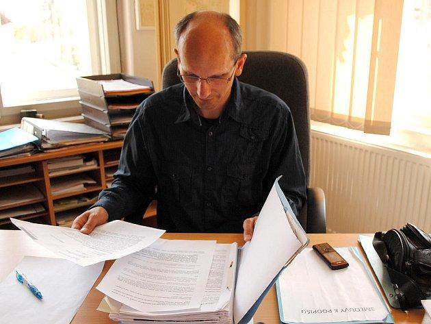 Bývalý starosta Hazlova Josef Čapek.