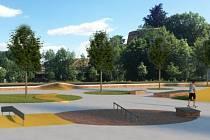 Na levém břehu Krajinky v Chebu vyroste jeden z nejmodernějších skateparků u nás v republice, jeho stavba se ale musela přesunout.