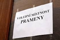 Komunální volby v Pramenech.