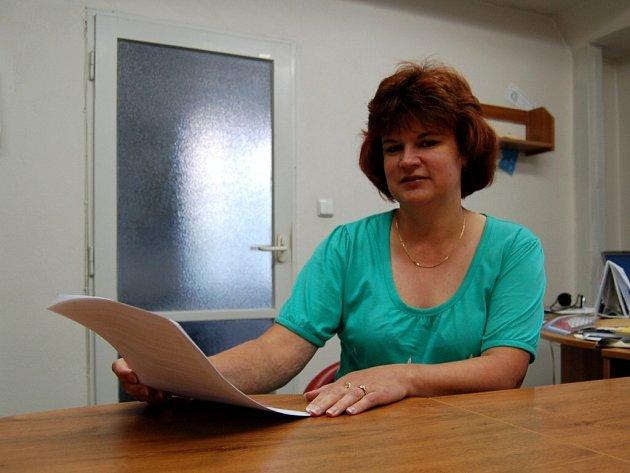 SOCIÁLNÍ PRACOVNICE Radka  Müllerová už se těší na červencový nápor klientů.