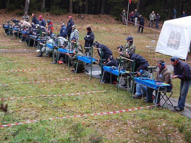 Střelecký klub AVZO Cheb uspořádal mezinárodní střeleckou soutěž Zlatý lev