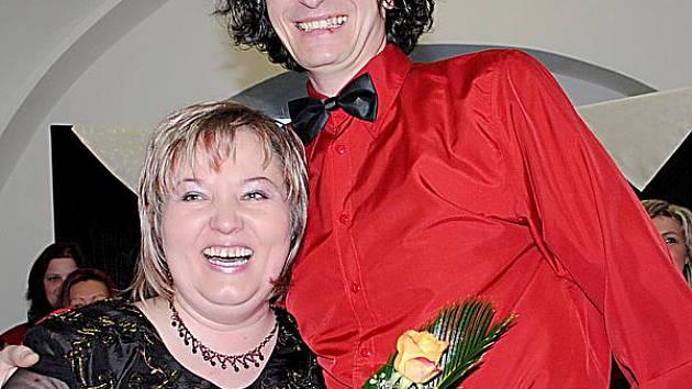 Alexandra Benešová s manželem.