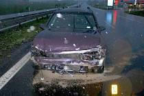 Dopravní nehoda, ke které došlo v úterý 28. dubna v Odravě na silnici R6