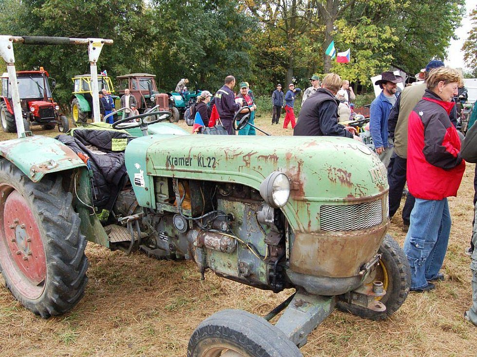 Traktoriáda přilákala davy