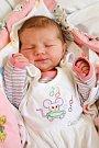 ANNA BELKOVÁ se poprvé rozkřičela ve středu 18. května v 5.33 hodin. Na svět přišla s váhou 3 280 gramů a mírou 50 centimetrů. Maminka Iva a tatínek Miroslav se radují z malé Aničky doma v Chebu.